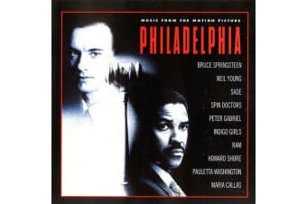 Various – Philadelphia (Music From The Motion Picture) MUSIC CD NEW SEALED