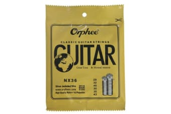Orphee NX36 Classic Nylon Classical Student Guitar Strings  Wire Strigning