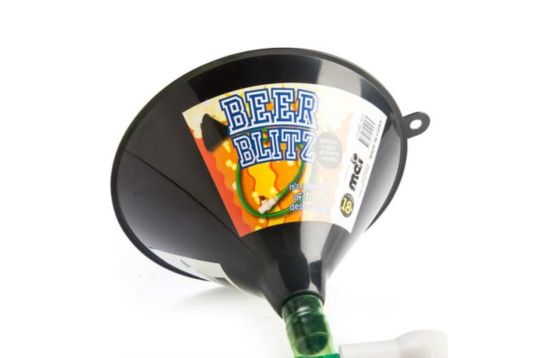 Beer Blitz Beer Bong Funnel With Hose Tap Valve Large Alcohol Booze Scull Party