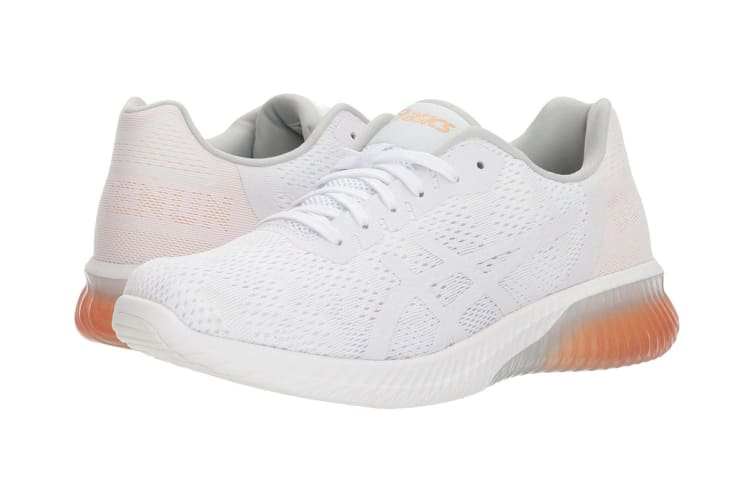 ASICS Women's Gel-KENUN MX Running Shoe (White/White/Apricot Ice, Size 6)