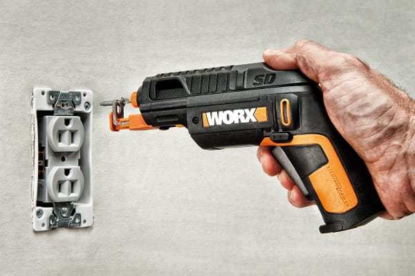 WORX Slide Driver Screw Driver with Screw Holder Attachment (WX255.1)