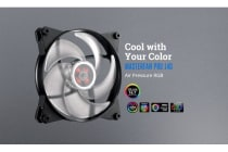 Coolermaster MasterFan Pro RGB Air Pressure 140mm Fan, Certified compatible with ASUS, Gigabyte MSI and AsRock RGB motherboard
