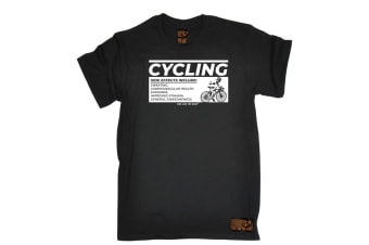Ride Like The Wind Cycling Tee - Side Effects Mens T-Shirt