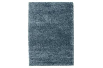 Thick Soft Polar Shag Rug - Teal Blue 150x80cm