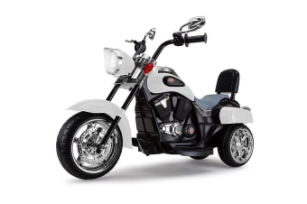ROVO KIDS Electric Ride On Motorbike Motorcycle Harley Style Battery Toy Chopper