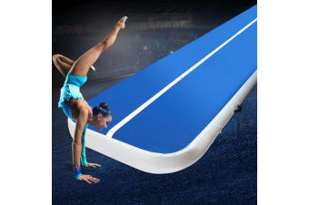 Everfit 4X1M Airtrack Inflatable Air Track Tumbling Mat Home Floor Gymnastics BL