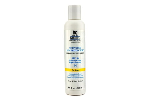 Kiehl's Activated Sun Protector Ultra Light Sunscreen SPF 50 (For Body) (150ml/5oz)