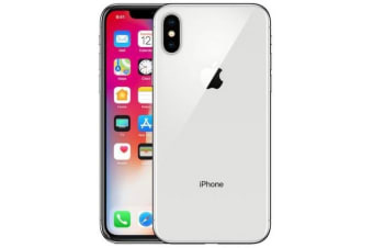 iPhone X - Silver 256GB - As New Condition Refurbished