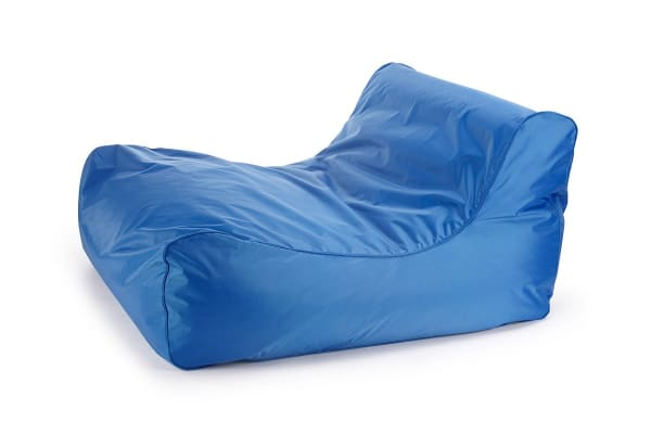 Ovela Luxe Bean Bag Lounger (Blue)
