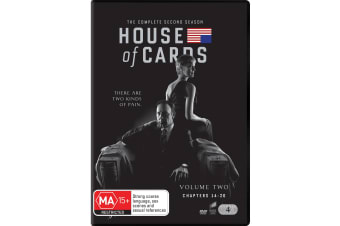 House of Cards The Complete Second Season 2 DVD Region 4