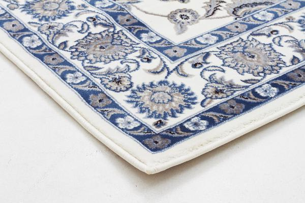 Classic Rug White with White Border 290x200cm