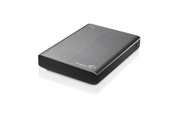 Seagate 2TB Wireless Plus Portable Mobile storage you can access without wires or Web