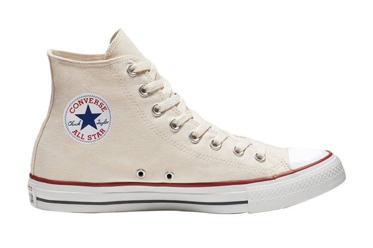 Converse Unisex Chuck Taylor All Star Hi (Natural Ivory, Size 5.5)