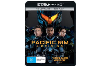 Pacific Rim Uprising 4K Ultra HD Blu-ray Digital Download UHD Region B