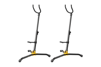 2PK Hercules Adjustable Stand/Holder for Baritone Saxophone Musical Instrument