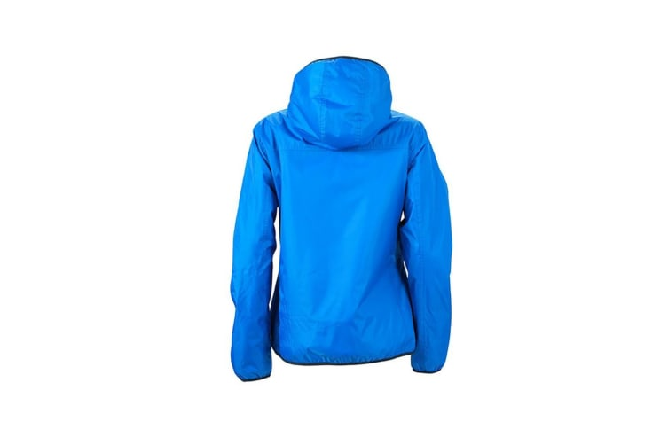 James and Nicholson Womens/Ladies Winter Sports Jacket (Royal Blue/Off-White) (S)