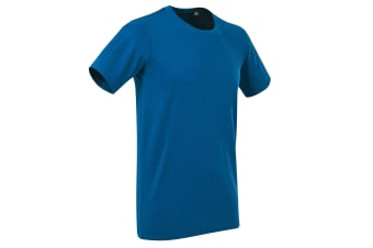 Stedman Stars Mens Clive Crew Neck Tee (King Blue)