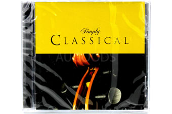 Simply Classical BRAND NEW SEALED MUSIC ALBUM CD - AU STOCK