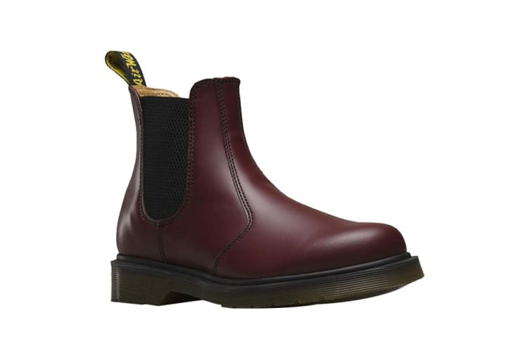Dr. Martens 2976 Chelsea Leather Shoe (Cherry Red, Size 10 UK)