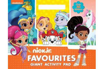 Nick Jr. Favourites Giant Activity Pad - Girls