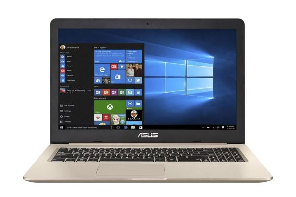 "ASUS 15.6"" VivoBook Pro i7-7700HQ 8GB RAM 1TB HDD GTX 1050 Windows 10 FHD Notebook (N580VD-DM264T)"