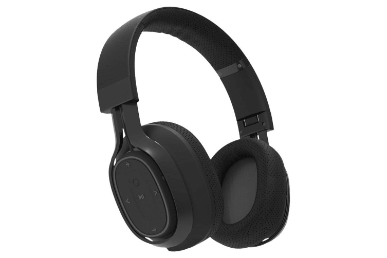 BlueAnt Pump Zone Wireless HD Audio Headphones - Black