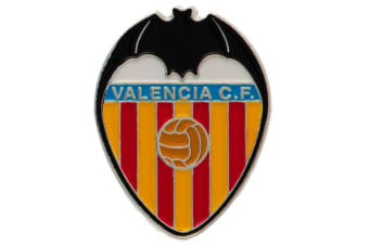 Valencia CF Badge (Multicoloured) (One Size)