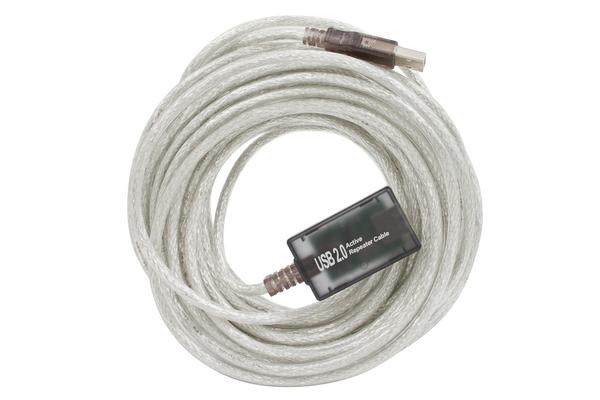 Cabac 12m USB Active Extension Cable, USB 1.1 and USB2.0 ~CBUSB2EXT