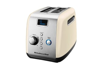 KitchenAid 2 Slice Toaster - Almond Cream (5AKMT223AC)