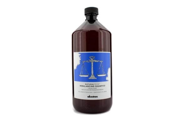 Davines Natural Tech Rebalancing Shampoo (For Oily Scalp) 1000ml/33.8oz