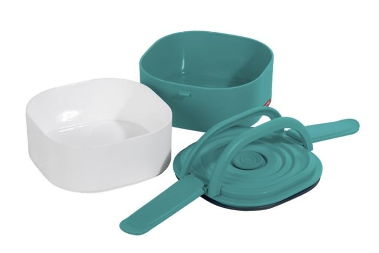 Russbe Duo Container Air Seal Stack Bento 1.5L Teal