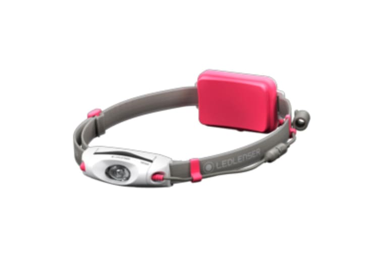 LED LENSER NEO6R Headlamp RECHARGEABLE 240 Lumens Head Torch PINK
