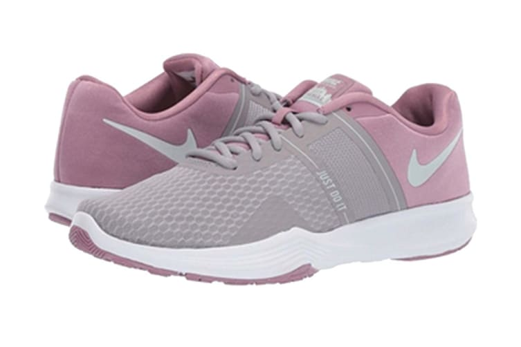 Nike Women Grey & Pink CITY TRAINER 2 Training Shoes