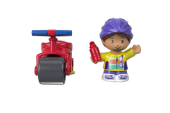 Fisher Price Little People Samuel with Bike