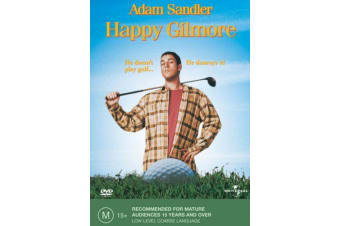 Happy Gilmore -Family Region 4 Rare- Aus Stock DVD Preowned: Excellent Condition