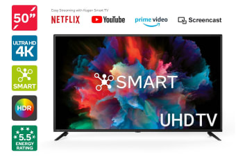 "Kogan 50"" Smart HDR 4K UHD LED TV (Series 8 RU8020)"