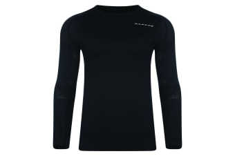 Dare 2B Mens Zonal III Long Sleeve Baselayer Top (Black)