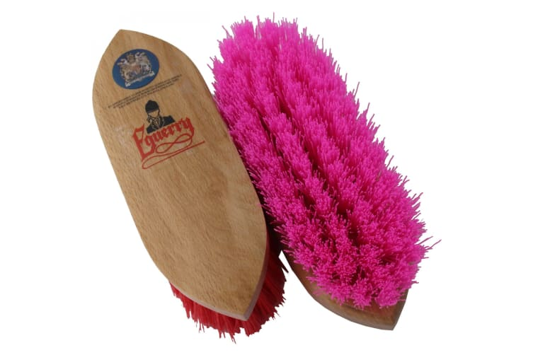 Equerry Dandy Brush (Pink) (Small)