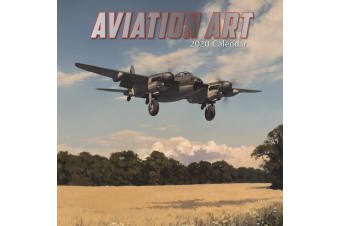 Aviation Art - 2020 Wall Calendar 16 month Premium Square 30x30cm (DD)