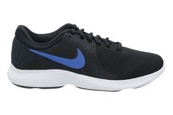 Nike Women's Revolution 4 Running Shoe (Black/White, Size 9.5 US)
