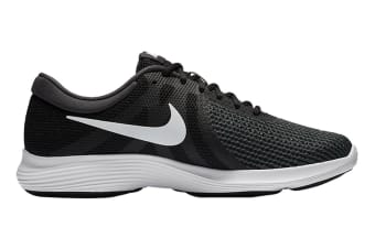Nike Men's Revolution 4 Running Shoe (Black/White, Size 9.5 US)