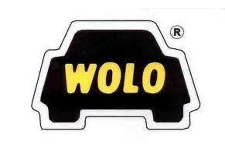 WOLO BAD BOY AIR HORN COMPACT TRUMPET NEW FOR CAR TRUCK 12V 12 VOLT CHROME 519