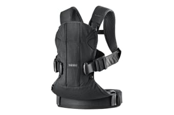 BabyBjorn Baby Carrier One Air (Black Mesh)