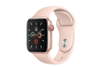 Apple Watch Series 5 (GPS+Cellular) 40mm Gold Aluminum Case Pink Sport Band