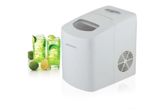 Heller HIM10 Electronic Ice Cube Maker Machine Auto Automatic Portable 10kg 150w