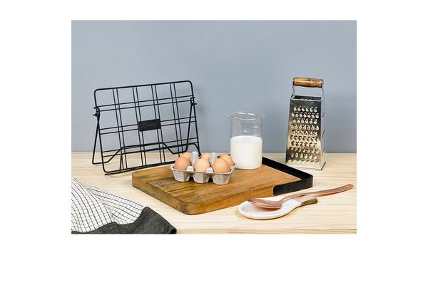 Academy Orwell Cookbook Stand Black