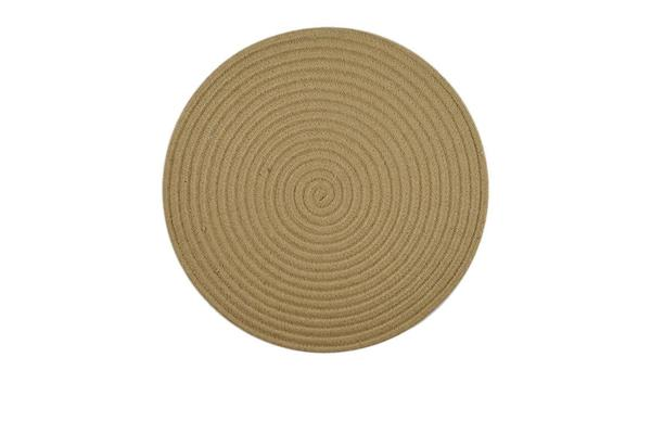 Casa Regalo Round Placemat 38cm Natural