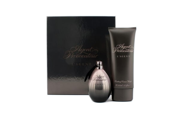 Agent Provocateur L'Agent Coffret: Eau De Parfum Spray 100ml/3.3oz + Bathing Cream Wash 200ml/6.7oz (2pcs)