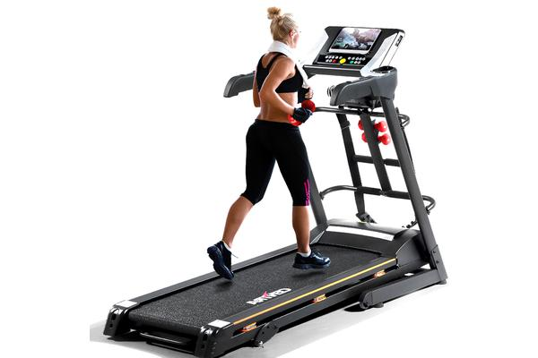 Multi-function Trainer- Electric Treadmill & Massager & Sit-up Rack