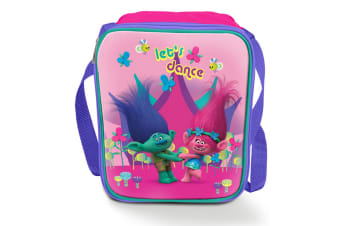 Trolls Childrens/Kids Official Lets Dance Lunch Bag (Pink) (One Size)